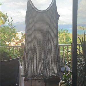 Stripped summer Billabong dress or beach cover up